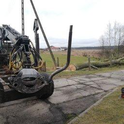 Drewnil - Prace działkowe Olesno