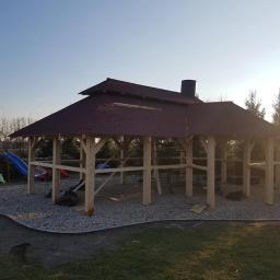 altany i wiaty - Budowa Altany Osiek Mały
