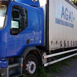 AGAT + - Transport międzynarodowy do 3,5t Szczecin