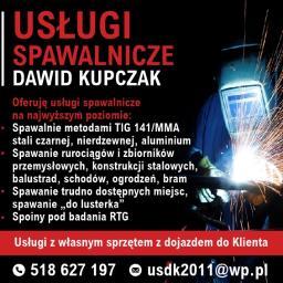 Usługi spawalnicze Dawid Kupczak - Balustrady na Schody Czerwionka-Leszczyny