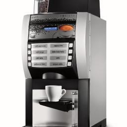 Ekspres biurowy na świeżo mieloną kawę, napoje kawowe, czekoladę, herbatę lub zupę