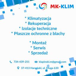 MK-KLIM Mieczysław Kłapiński - Instalacje Harasiuki