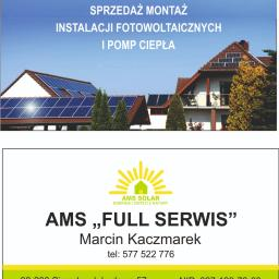 AMS FULL SERWIS Marcin Kaczmarek - Powietrzne Pompy Ciepła Sieradz