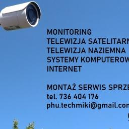 Montaż anten Białogard