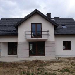 BauTeam - Fasada Domu Dąbrowa Białostocka