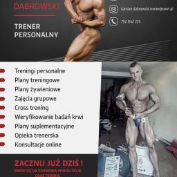 Twój Trener Personalny Damian Dąbrowski - Dietetyk Słupsk