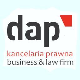 DAP Kancelaria Prawna Business & Law Firm - Sprawy procesowe Warszawa