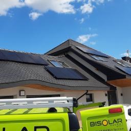 Instalacja o mocy 9,9 kW panele fotowoltaiczne JA Solar Full Black na dachu