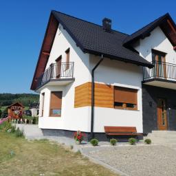 Usługi remontowo budowlane Marek Kulig - Elewacja Domu Parterowego Nowy Sącz