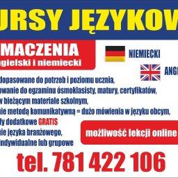 Kursy językowe angielski niemiecki - Usługi Marketingowe Opoczno