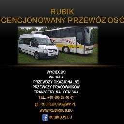 RUBIK Krzysztof Rubik - Przewóz osób Kędzierzyn-Koźle