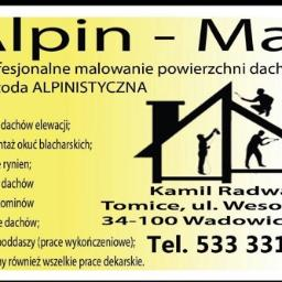 Alpin-Mal - Prace wysokościowe Wadowice