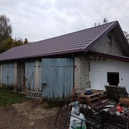 Wykonanie dachu ze zmianą więźby dachowej