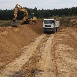 Przedsiębiorstwo budowlane kopalnie kruszyw - Piasek Kamionka