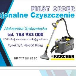 First Order-Profesjonalne Czyszczenie - Pranie Kanapy Brzeg