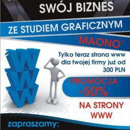 "Studio grafiki ""Maono"" - Grafika Komputerowa Lutowiska"