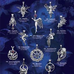 """Kompleksowy projekt kolekcji biżuterii """"Magiczne Elfy"""", od zaprojektowania prototypów zawieszek, poprzez cały proces produkcyjny, aż po materiały promocyjne."""