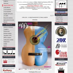 OPPA - Międzynarodowy Festiwal Bardów www.oppa.pl