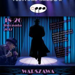 Projekt plakatu promocyjnego w formacie B1 dla OPPA 2017 - 35. Międzynarodowego Festiwalu Bardów www.oppa.pl