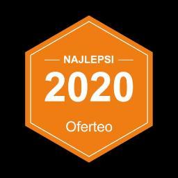 Otrzymaliśmy tytuł najlepsi 2020 za znakomite opinie od naszych klientów