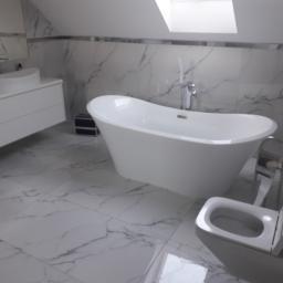 Usługi Remontowo - Budowlane - Remont łazienki Kamienica