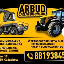 """Zakład budowlany """"ARBUD"""" - Fundamenty Kożuchów"""