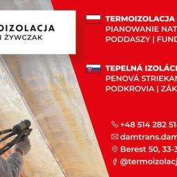Damian Żywczak F.H.U Damtrans - Ocieplanie Pianką PUR Krynica-Zdrój