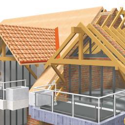Wymiana dachu Chełm 1