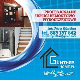 Gunther usługi ogólnobudowlane - Płyta karton gips Lichnowy