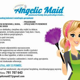 AngelicMaid Cleaning Services - Usługi Mycia Okien Huta komorowska