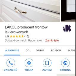LAKOL producent frontów lakierowanych - Malarz Radomsko
