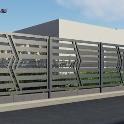 Produkcja konstrukcji metalowych-ogrodzen-barierek - Balustrady nierdzewne Szczecin