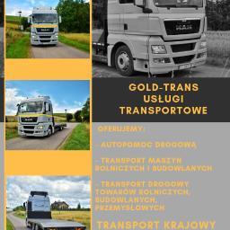GOLD-TRANS Krzysztof Złotorzyński - Transport busem Suwałki