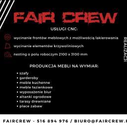 Fair Crew - Szafy na wymiar Jarocin