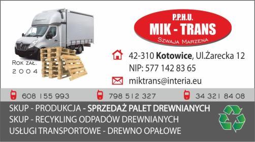 P.P.H.U. MIK-TRANS - Opakowania Kotowice