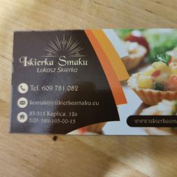 Iskierkasmaku - Catering dla firm Gdańsk