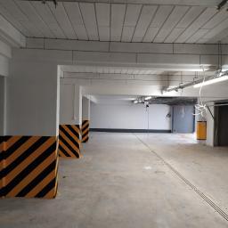 Garaż wykonywany przez naszą firmę w jednym z bloków w mieście Łomża