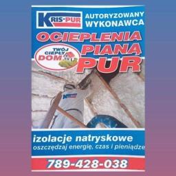 KRIS-PUR Andrzej Dąbrowski - Ocieplanie poddaszy Warszawa