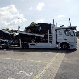 Transport samochodów Warszawa