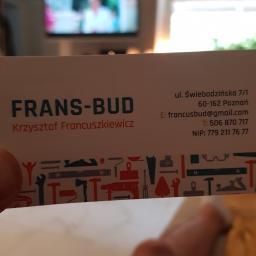 FRANS-BUD Krzysztof Francuszkiewicz - Ocieplanie Budynków Poznań