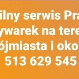 Mobilny serwis Pralek i Zmywarek. Tomasz Szumiata - Serwis RTV, AGD Gdańsk