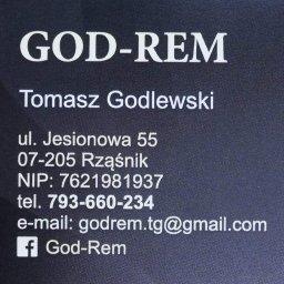 GOD-REM Tomasz Godlewski - Osadzanie Drzwi Rząśnik