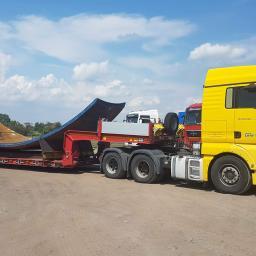 Transport ciężarowy krajowy Żyrzyn 2