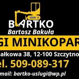 Bartko Usługi minikoparką Bartosz Bakuła - Wynajem Szalunków Szczytno