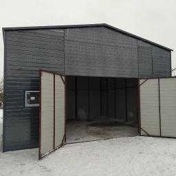 Garaże blaszane Limanowa 15