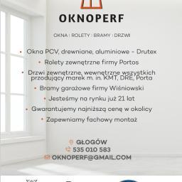 OKNOPERF - Bramy Na Pilota Głogów