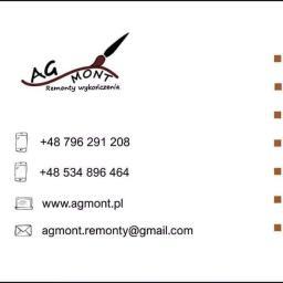 AGmont Remonty Wykończenia - Malarz Dębica