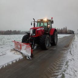 Odśnieżanie dróg i placów Kraków