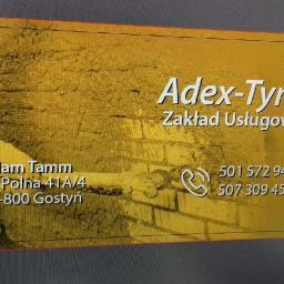 Adex-tynk Zakład Uslugowy - Tynki Maszynowe Gostyń
