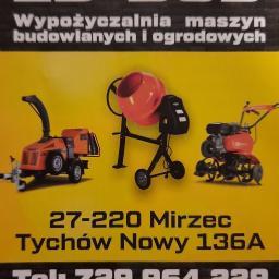 Wypożyczalnia maszyn budowlanych i ogrodowych ED-BUD - Firmy inżynieryjne Mirzec